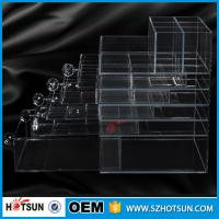 China new products acrylic makeup display, acrylic makeup box, acrylic makeup storage boxes