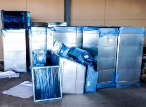 "Wholesale Linear Low Density Polyethylene 200 Ft 24"" Blue Plastic Duct Wrap from china suppliers"
