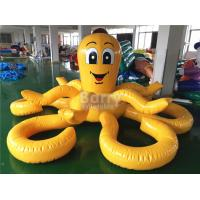 Wholesale Customized Yellow Octopus Inflatable Pool Floats For Aqua Water Park from china suppliers