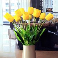 China Wholesale Artificial Flowers Yellow Tulips on sale