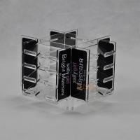 Wholesale Clear 4mm Acrylic Makeup Display Stand retail store For Advertisement CYMK Printing from china suppliers
