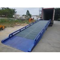 Wholesale Galvanized Steel Containers / Mobile Yard Ramp Manual Operate Manner from china suppliers