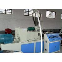 WPC Deck Profile Making Machine , wpc pvc Profile Production Line / Profile Extruder