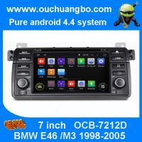 Wholesale Ouchuangbo Autoradios DVD Multimedia Stereo System for BMW E46 /M3 1998-2005 Android 4.4 from china suppliers