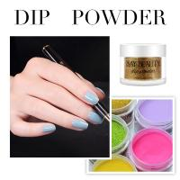 Wholesale healthy and simply nail art glitter acrylic nail dipping powder nails system from china suppliers