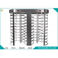Wholesale Prison Automatic Full Height Turnstiles Barrier With 90 Degree Rotation from china suppliers