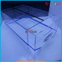 Wholesale high quality plexiglass shoe box for package,wholesale custom clear acrylic shoe box hupbox sneaker display box from china suppliers