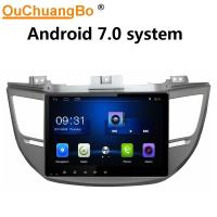 Buy cheap Ouchuangbo car radio stereo android 7.0 system for Hyundai Tucson 2015 with gps navi multimedia USB WIFI SWC 1080 video from wholesalers