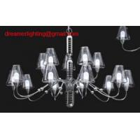 Wholesale hight quality Mini Chandelier, Chrome Plated Frame, Strong Clear Glass Accents from china suppliers