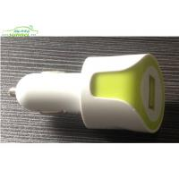 Wholesale Professional 5V 1000MA Mini USB Car Charger Adapter with LED light from china suppliers