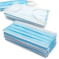 Wholesale Anti Germs Disposable Surgical Mask , 3 Ply Disposable Blue Earloop Face Mask from china suppliers