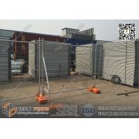 Quality Temporary Fence Panels with Plastic Foot Block | H 2100mmXW2400mm | AS4687-2007 for sale