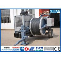 Wholesale Conductor OPGW ADSS Cable Stringing Equipment / Hydraulic Power Line Tensioner 9 Ton 2x45kN from china suppliers