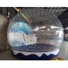 Buy cheap Inflatable Christmas Snow Globe , PVC Tarpaulin Inflatable Christmas Ball for from wholesalers