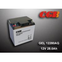 Wholesale 12V 28AH Gel Lead Acid Battery , EPS Vrla Rechargeable Battery Non Spillable from china suppliers