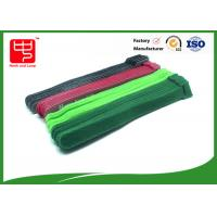 Double Side hook and loop Strong Sticky Hook and Loop Cable Tie For Curtain Ties