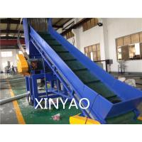 Waste Film Recycling Plastic Washing Line With Belt Conveyor for sale