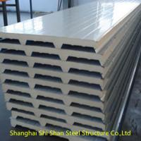 Wholesale Eco Friendly EPS Sandwich Panel , Light Weight Structural Insulated Wall Panels from china suppliers