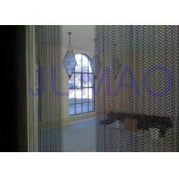 China Room Dividers Metal Mesh Curtains Creating Functional and Modern Interior Design on sale