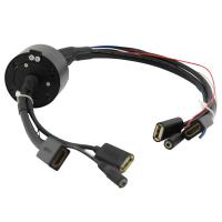Buy cheap Multi-Signals Hybrid Transmission Hollow Slip Ring Compact Design For Rewinder from wholesalers
