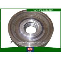 China Semi Steel Casting Steel 2 Piece Solid Tire Mold For Light Truck Tire on sale