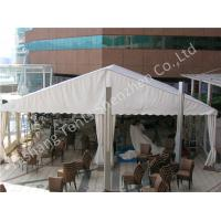Wholesale White PVC Fabric Cover Outdoor Event Tent , wind resistant tent with White Roof Lining from china suppliers