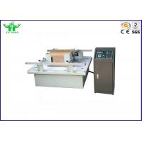 Buy cheap Carton Transportation Vibration Package Testing Equipment GB / T 4857.7-92 from wholesalers