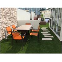 40mm U Shape Landscaping Artificial Grass For Patio And Rooftop UV resistant