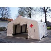Wholesale Removeble Air Tight Army Inflatable Medical Tent 0.65mm PVC Tarpaulin from china suppliers