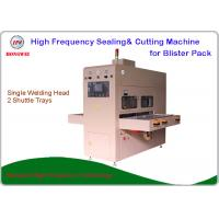 China Semi Automatic HF Single Head Welding Machine HMI And Onboard PLC Control on sale