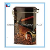 Wholesale Airtight Tin Box with Plastic Lid for Coffee &Tea from china suppliers