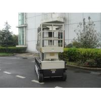 Wholesale 10m  Four Mast Self Propelled Aerial Lift 300kg Capacity For Auto Stations from china suppliers