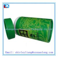 Wholesale paper tea tube/paper tea can from china suppliers