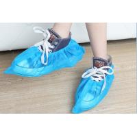Wholesale Comfortable Non Woven Shoe Cover , Hospital Blue Shoe Covers Disposable from china suppliers