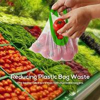 China Washable Mesh Produce Bags, Eco-Friendly Grocery Bags, Lightweight See-Through  Drawstring Bags for Grocery Shopping for sale