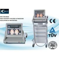 Vertical HIFU Machine , Skin Treatment Equipment 15 inches Touch screen