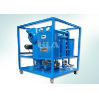 China Double Stages Insulating Transformer Oil Purification Machine With Leybold Pumps on sale