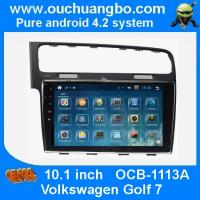Wholesale Ouchuangbo autoradio DVD GPS stereo multimedia android 4.2 VW golf 7 support 4 core canbus aux from china suppliers