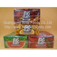 Wholesale Square Sweet Big Blast Bubble Gum Candy With Fruit Flavor , 4 G * 100 Pcs from china suppliers