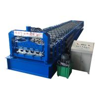 Buy cheap High Speed Floor Deck Roll Forming Machine H 75 HC 57Steel Sheet Type from wholesalers