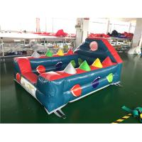 Wholesale Funny Air Ball Challenge Inflatable Interactive Games For Kids 2.4 x 1.8m from china suppliers