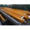 Buy cheap Heavy Duty Industrial Hydraulic Piston For Dump Truck Hoist Cylinder Steel from wholesalers