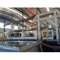 China 6000mm PLC Control HDPE Liners Sheet Extruder Machine Plastic Sheet Making Machine on sale