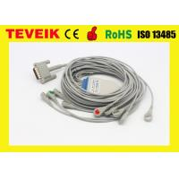 Buy cheap 10 leadwires HP M1770A ECG/EKG Cable For Patient Monitor, DB 15pin Snap AHA from wholesalers