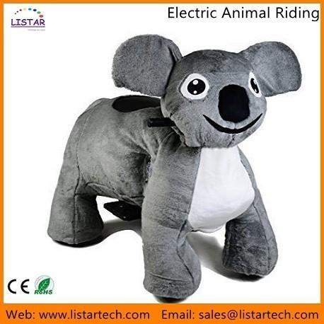 Quality Plush toy ride, Toy animal ride, Kids animal ride, Children Ride On Toys-Koala for sale
