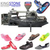Wholesale Dongguan Kingstone Machinery Air Blowing Plastic Shoe Making Machine from china suppliers