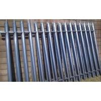 Wholesale high standard Galvanized Palisade Metal Fence from china suppliers