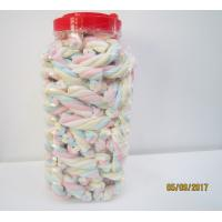 Wholesale Rope Shape Twisted Marshmallow Candy , Gourmet Marshmallow Easter Candy from china suppliers