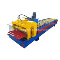 Wholesale 1250 Width Panel Glazed Tile Roll Forming Machine For Steel Construction from china suppliers