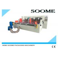 China Customized Corrugated Slitter Scorer Machine With Automatic Paper Feeder on sale
